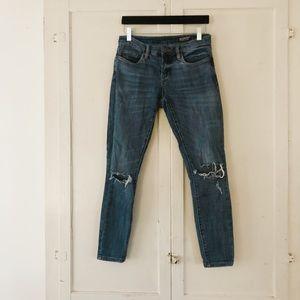 Blank NYC | Blue Distressed Skinny Jeans
